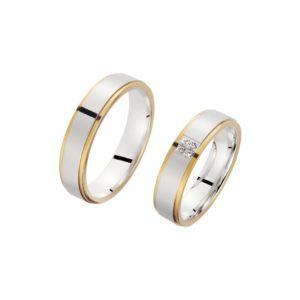 Gelbgold weißgold ring sr 31